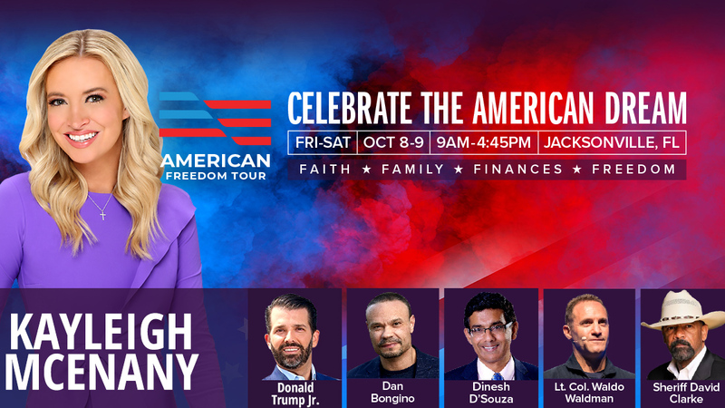 """NEWS RELEASE: Statement by Kayleigh McEnany on the Upcoming Nationwide  """"American Freedom Tour"""""""
