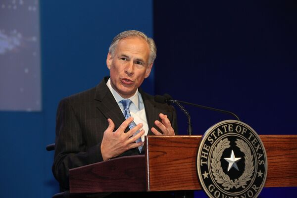 Greg Abbott Mic Drops Media by Sharing Red State vs. Blue State Wuhan Virus Response Comparison Graphic