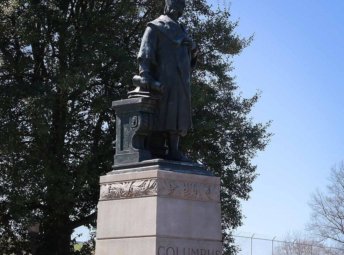 Christopher Columbus Statue Torn Down in Virginia