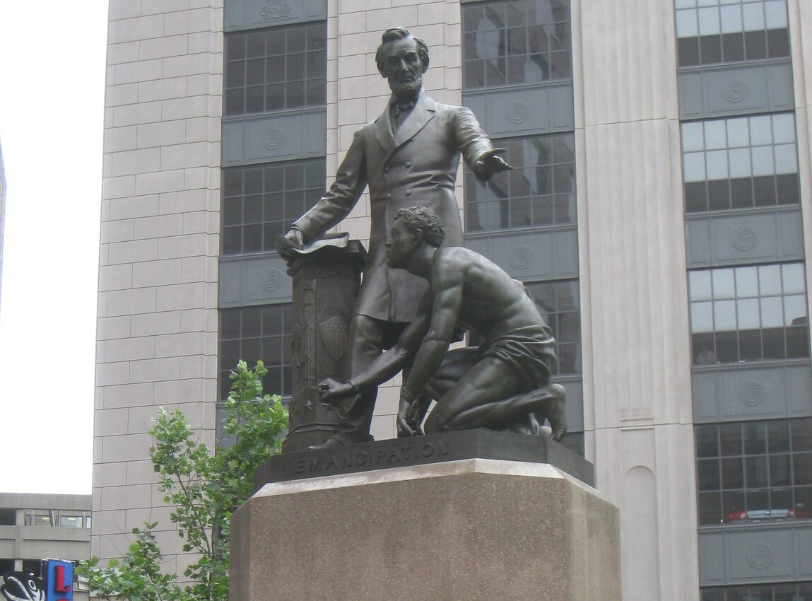 Boston Art Commission votes unanimously to remove statue of Abraham Lincoln with emancipated slave
