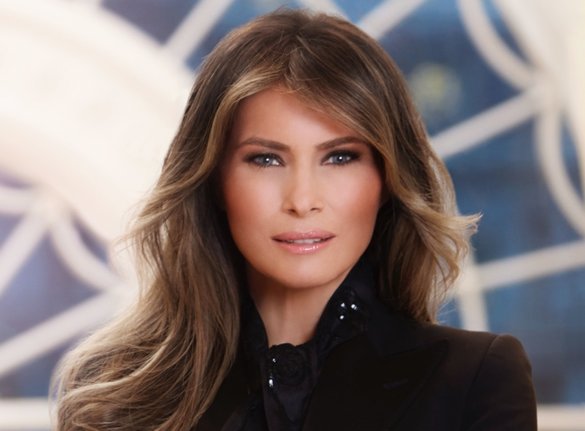 Melania Responds To Food Network Host Mocking Her And Barron On Father's Day