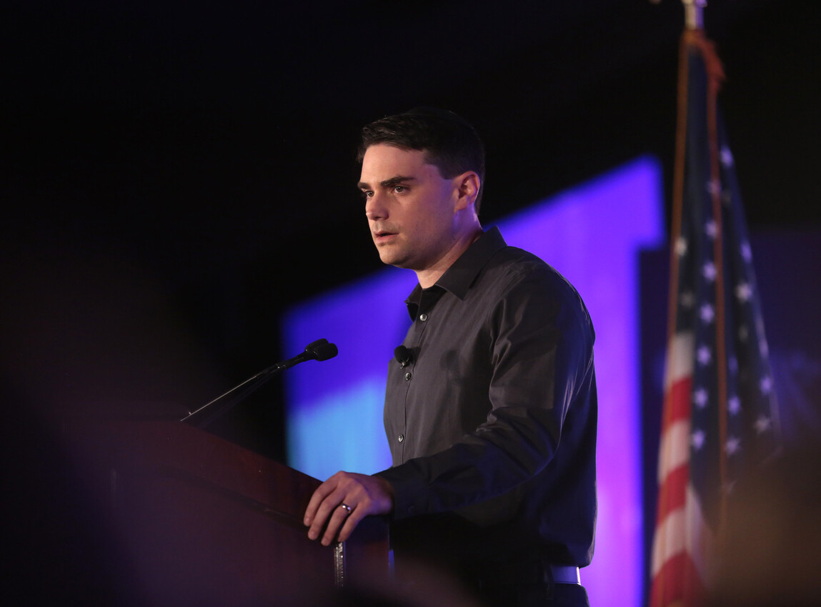 Conservative firebrand Ben Shapiro says he didn't vote for Trump in 2016 — but will in November.