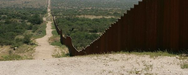 UNDER CONSTRUCTION: 30 Foot Border Wall!
