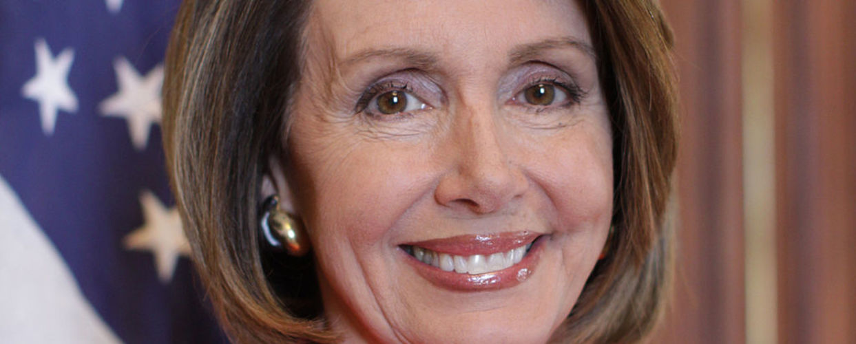 Pelosi Hits Trump Below the Belt [VIDEO]