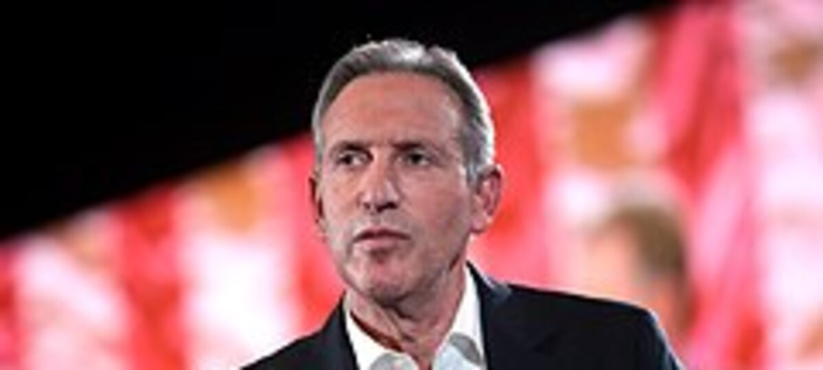 Former Presidential Hopeful and Starbucks CEO Howard Schultz Makes Endorsement