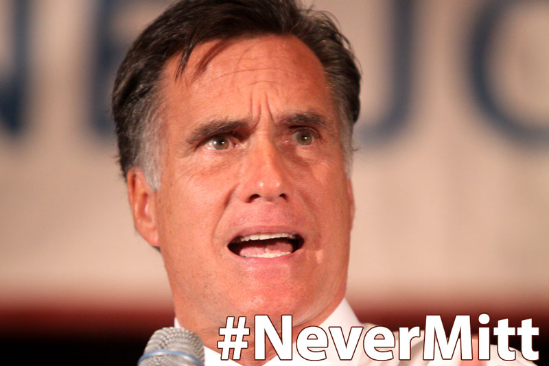 Help STOP #NeverTrump Establishment Leader Mitt Romney