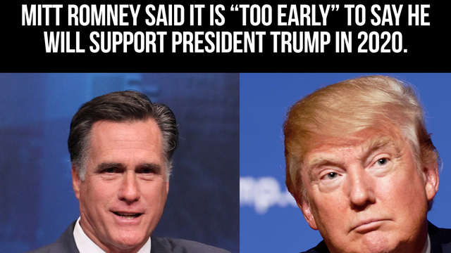 """Romney: The Russiagate Probe Is """"Totally Appropriate"""" And I'm Not Sure Who I'll Vote For In 2020"""