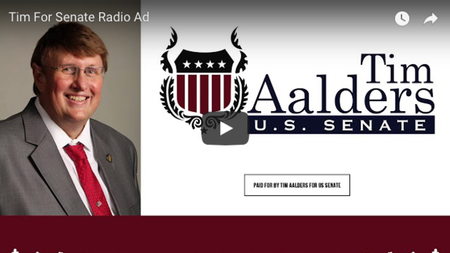 Tim Aalders for Senate Releases New Ad Exposing Mitt Romney