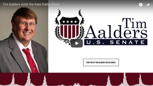 Tim Aalders visits the Kate Dalley Show