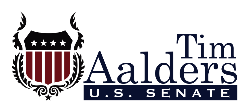 Tim Aalders for Senate