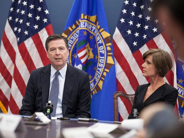 Comey and the FBI Hit With Discrimination Suit