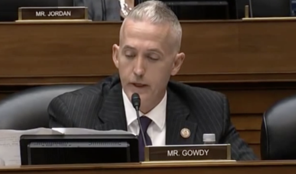 Gowdy Issues Strong Message to Comey