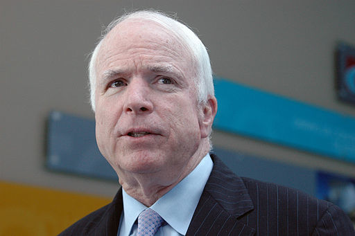 RINO McCain Blames Trump For Syrian Attack