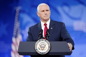 Pence Makes Heartfelt Speech In Wake Of American Tragedies