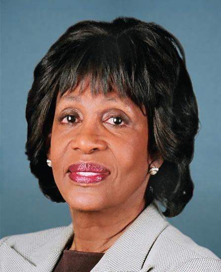5.) Maxine Waters