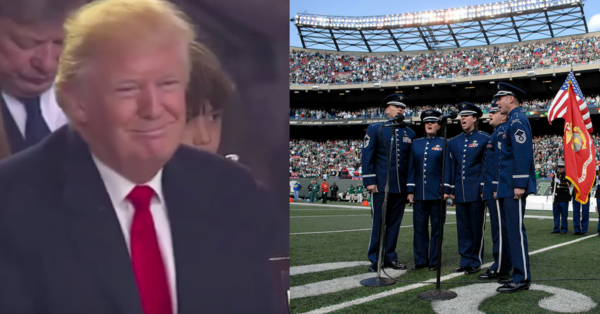 The Reason Why The NFL Caved To Trump