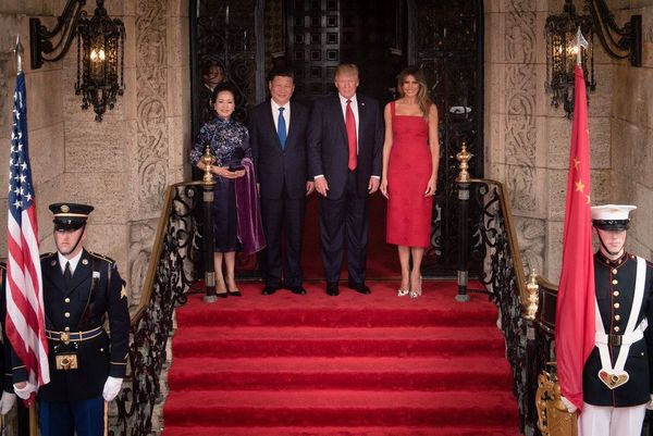 China Rolls Out The Red Carpet For President Trump, And The First Lady