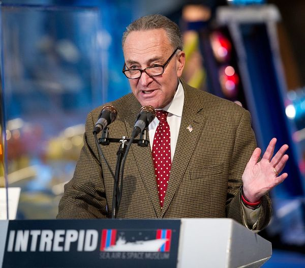 Schumer SHOCKINGLY Offers Trump His Support