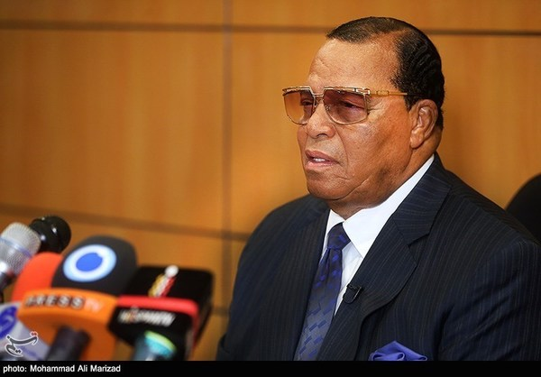 Dem Ally Louis Farrakhan Leads 'Death to America' Chant in Iran