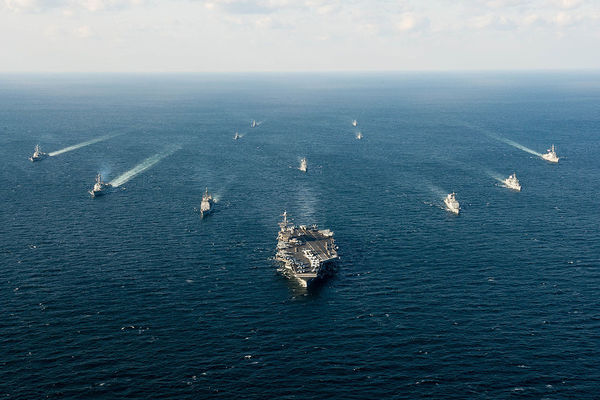A Naval Armada Is Heading To The Middle East