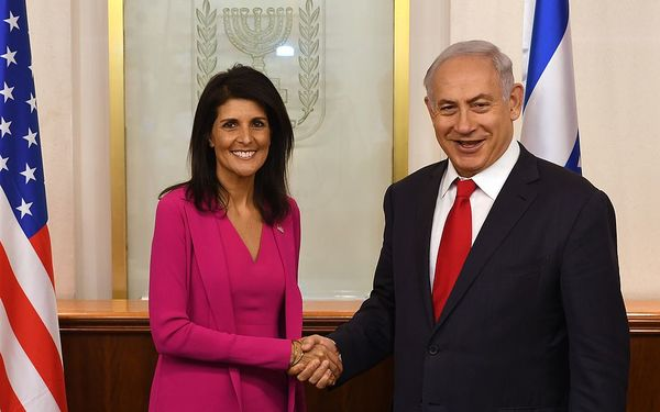 Haley Slams U.N. Hypocrisy