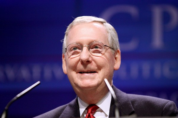 McConnell Hospitalized After Fall at Home