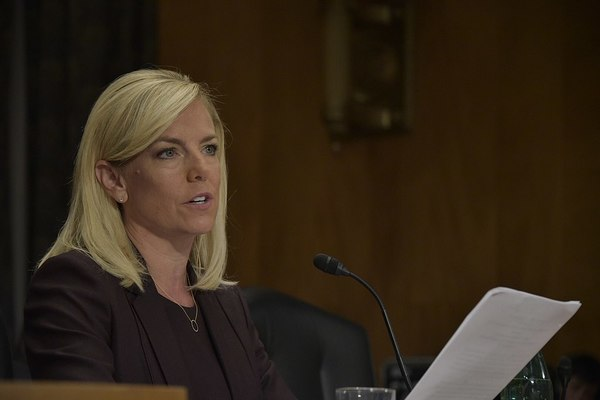 Outgoing DHS Secretary Announces Support for Trump