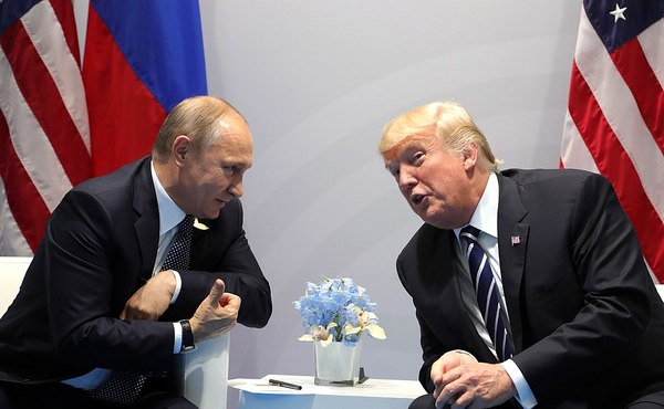 Putin Thanks Trump for Info That Stopped Terror Attack in Russia
