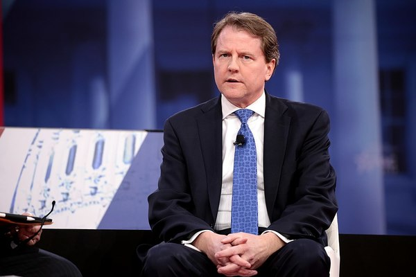 BREAKING: White House Tells McGahn Not to Testify