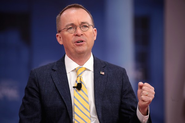 Mulvaney Names Top Priority for Trump Administration