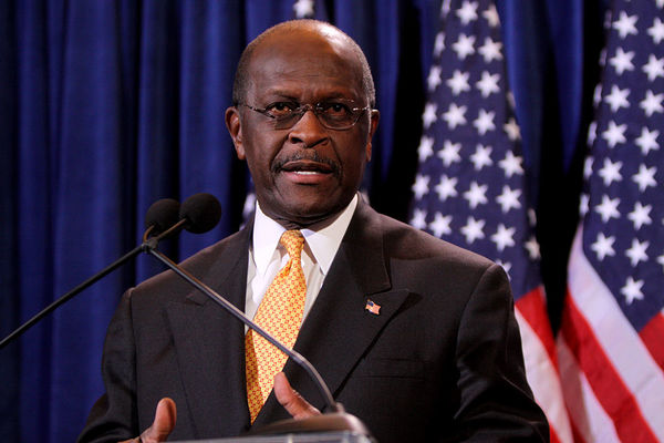 REPORT: Herman Cain Withdraws Name From Consideration for Fed Reserve