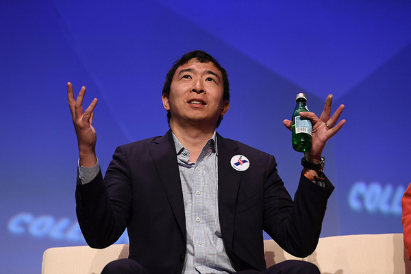8.) Andrew Yang Says No More Airplanes