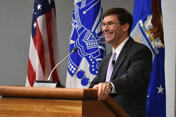 Secretary of Defense Mark Esper's Chief of Staff Resigns