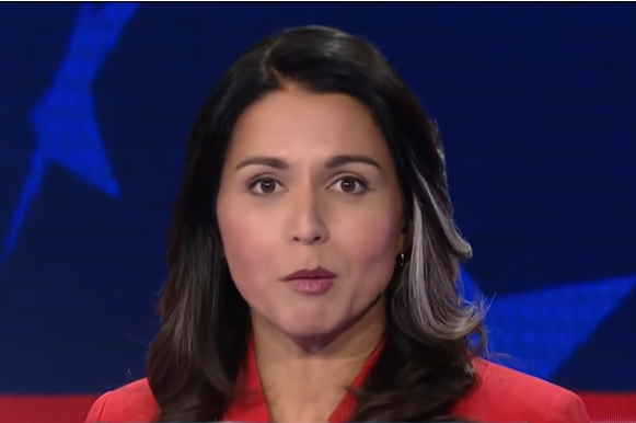 2.) Tulsi Gabbard, Not A Patriot
