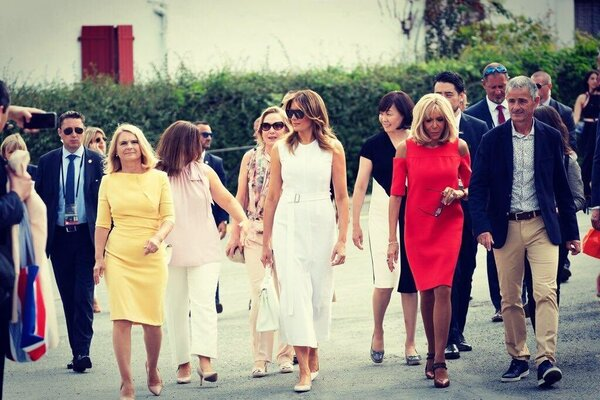 What Melania Wore Touring the Basque Region With G-7 Spouses
