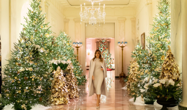 Melania Reveals This Year's White House Christmas Decorations