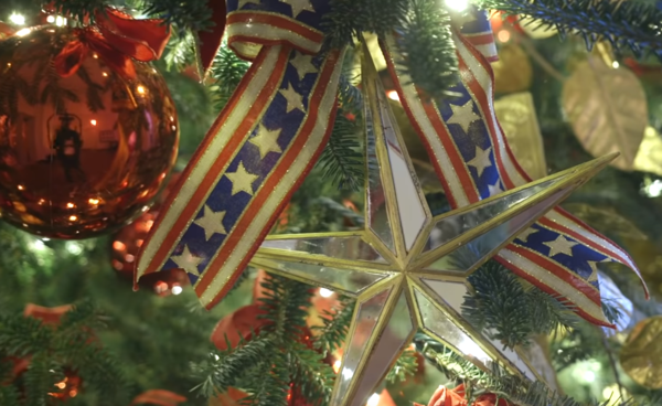 3.) Star and Stripe Ornaments