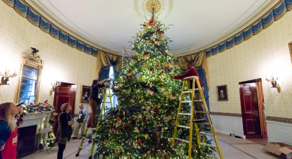 7.) A Special Thanks To White House Decorators