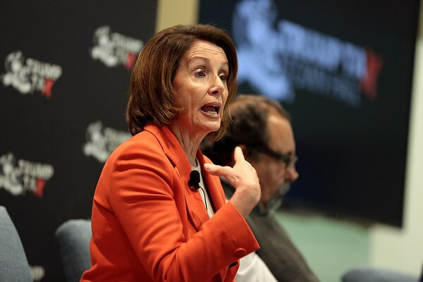 Pelosi CAUGHT on Video Test Ripping SOTU BEFORE Speech Started