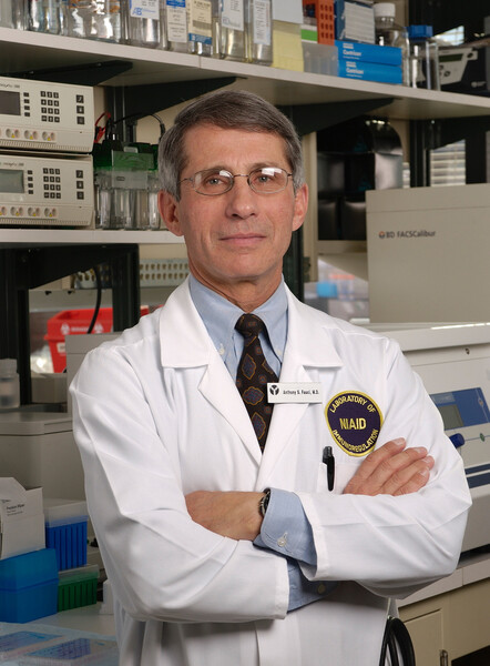 8.) Dr. Anthony Fauci