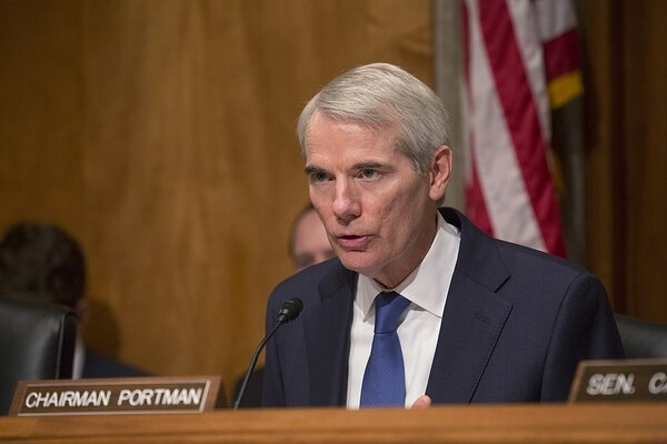 Senator Rob Portman (R-OH) Donates Two Months Salary to Coronavirus Relief