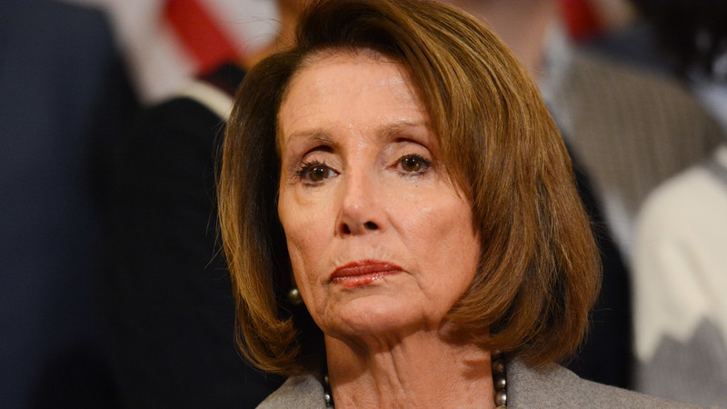 Nancy Pelosi shook her head in disbelief when she saw the results of this poll