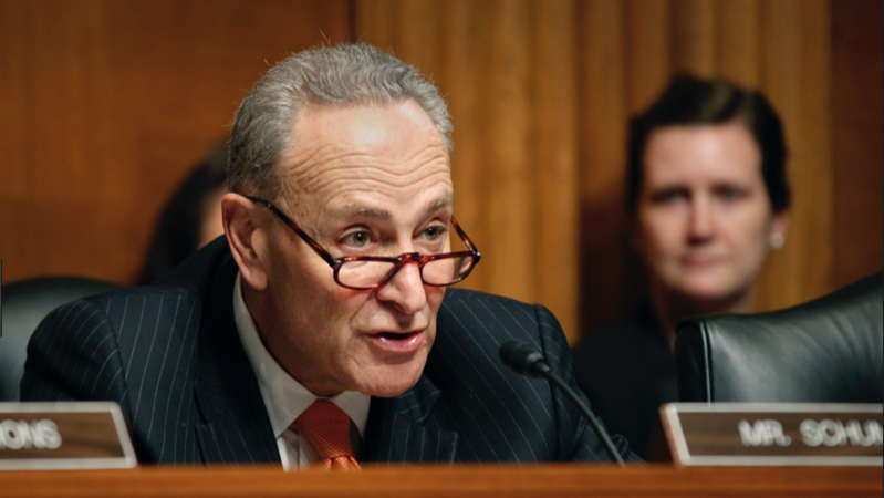 ​Chuck Schumer just made a surprising confession about Donald Trump