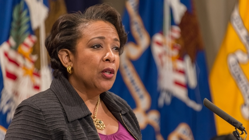 Loretta Lynch was caught red-handed committing one crime that could land her in jail