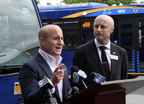 Max Rose Voted To Impeach Trump, Now He Promotes Him