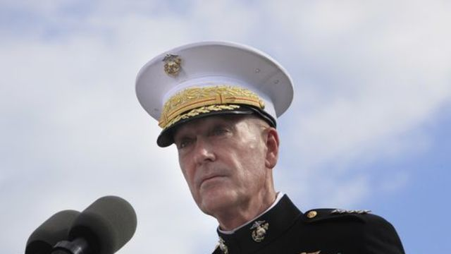 Top U.S. military official: Syria cease-fire not derailed