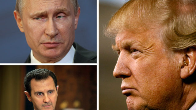 Donald Trump WILL back Assad in Syria and JOIN Putin to clear out ISIS