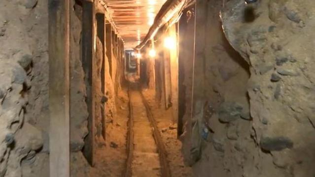 Border tunnels left unfilled on Mexican side pose security risk, officials say