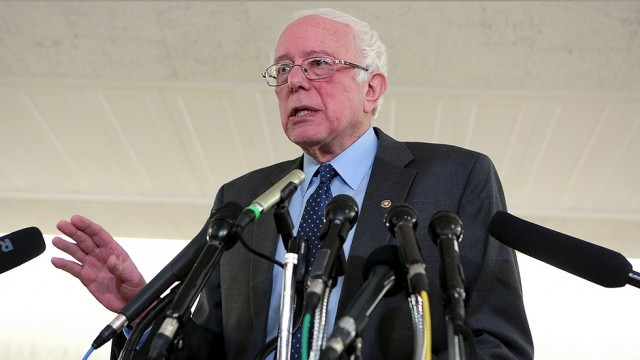 Sanders introduces bill to boost Social Security