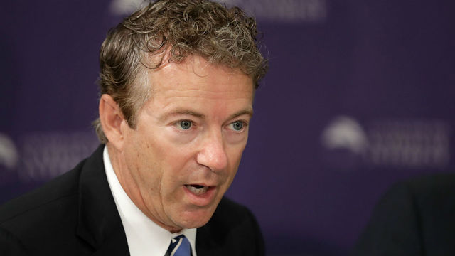 Rand Paul blasts GOP for keeping ObamaCare bill in 'secure location'